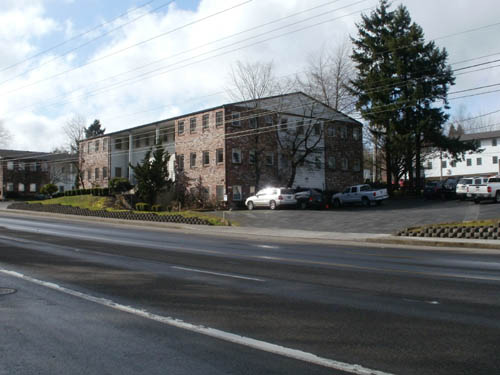 Street view, southbound